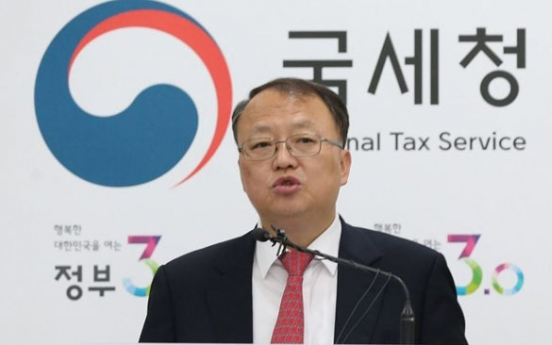 Tax chiefs of Korea, China discuss ways to bolster cooperation