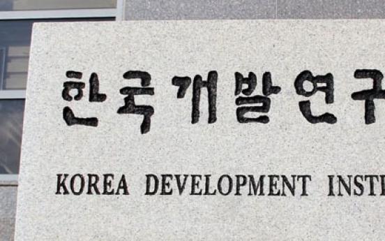 Korea's economic recovery remains feeble: KDI