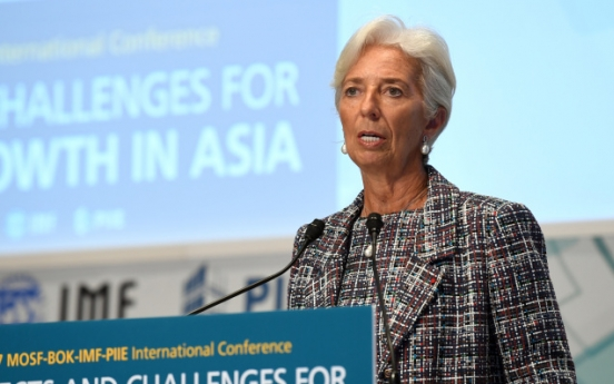 Boosting female workforce is solution to aging society problems: IMF chief