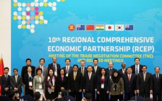 Asian trade ministers to meet in Korea in Oct. for regional FTA