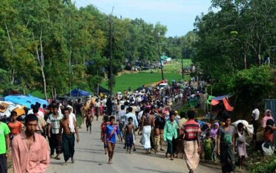Russia detains dozens at protest supporting Rohingya