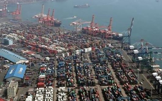 Korea's exports fall 8.7% in first 10 days of Sept.