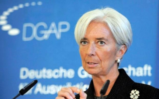 IMF chief says Korean economy likely to grow 3% this year