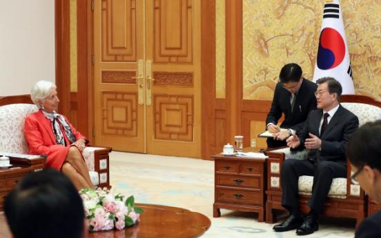 S. Korean economic prospects bright despite external challenges: IMF chief