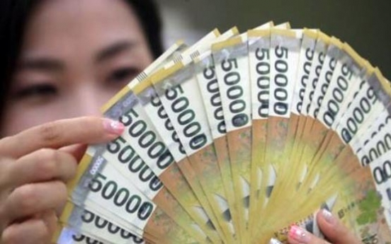 Korea's money supply grows in Jan.