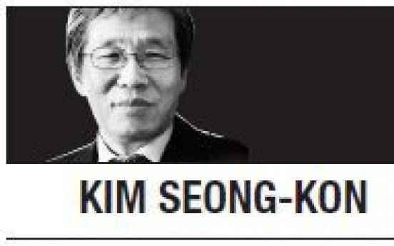 [Kim Seong-kon] We need good professionals and wise men