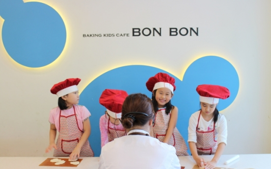 [Weekender] Falling in love with baking at specialty kids cafes