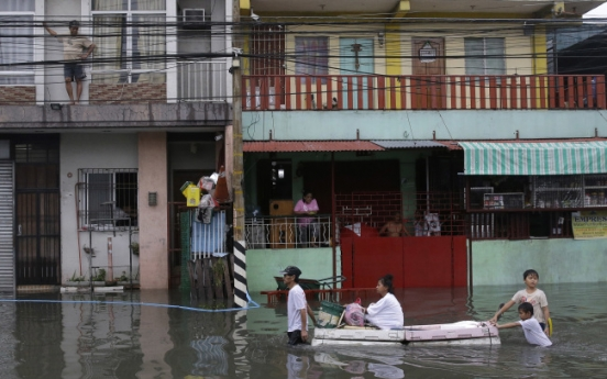 At least four dead as storm hits Philippines