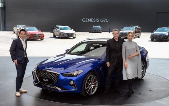 Genesis G70 sedan to rival premium European brands
