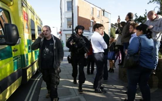 22 injured in London underground bomb attack