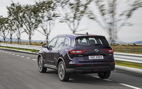 [Behind the Wheel] Renault Samsung's new SUV caters to urban driving