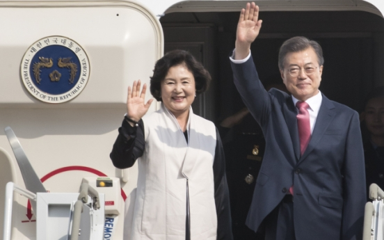 Moon heads to UN meeting as NK nukes loom over world