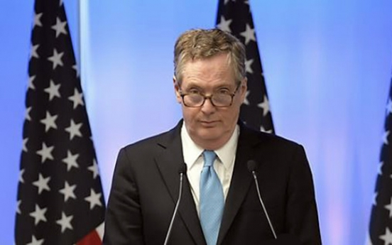US trade representative heralds renegotiation of Korea trade deal