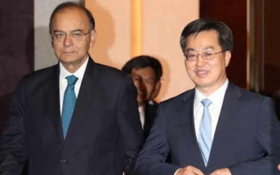 Korea, India to hold talks on trade deal improvement