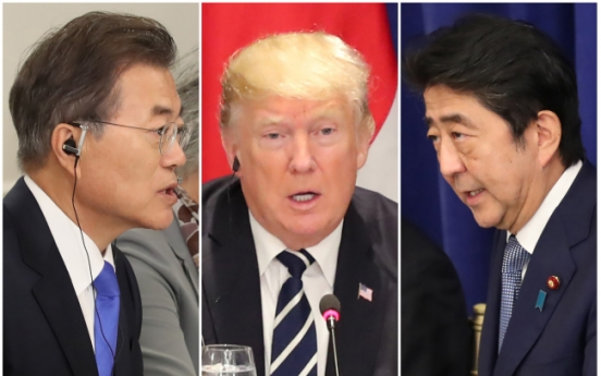 Moon's talk of peace snubbed as US-NK tensions flare up again