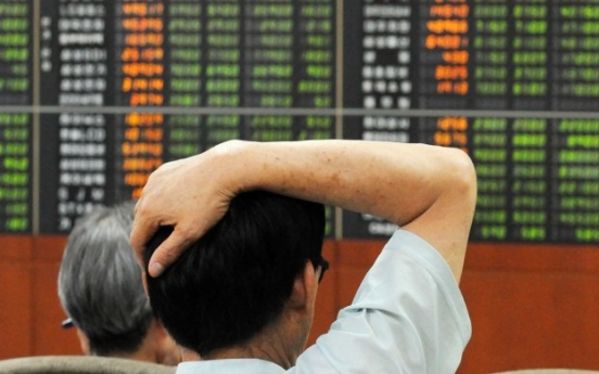 Shares extend downtrend amid US-N. Korea tension