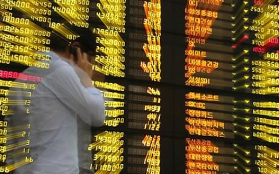 Korean shares down 0.40% in late morning trade on profit-taking