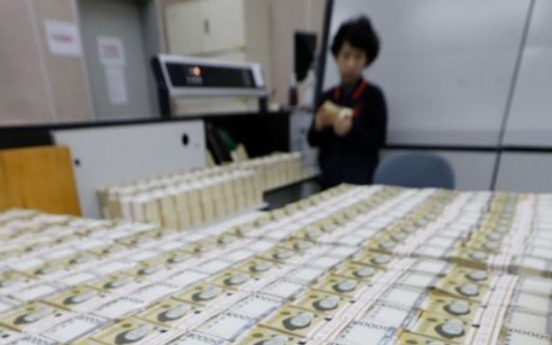 Korean households' excess funds shrink in Q2