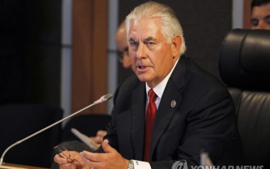 Tillerson on China visit focused on North Korea, trade