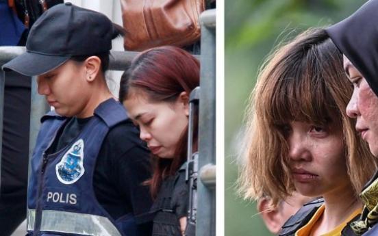 Women plead not guilty to murdering NK leader's half-brother