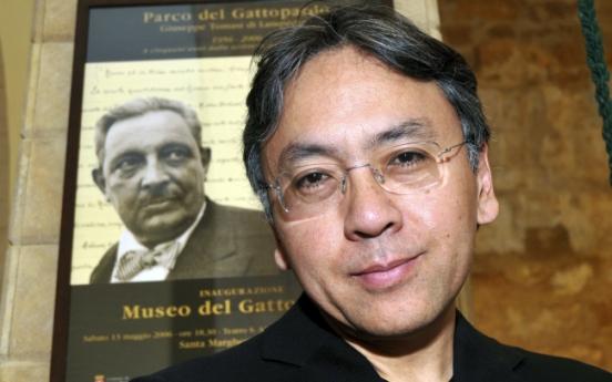British author Kazuo Ishiguro wins Nobel Literature Prize