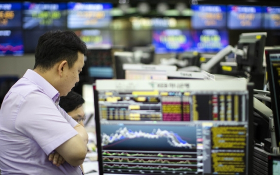 Kospi rises 5th-fastest among major indices of G-20