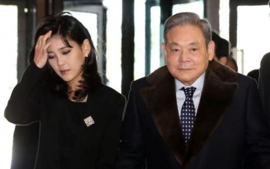 [Newsmaker] Samsung stock surge a boon to Lee family