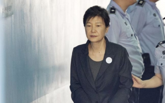 Court to decide whether to extend ex-President Park's detention