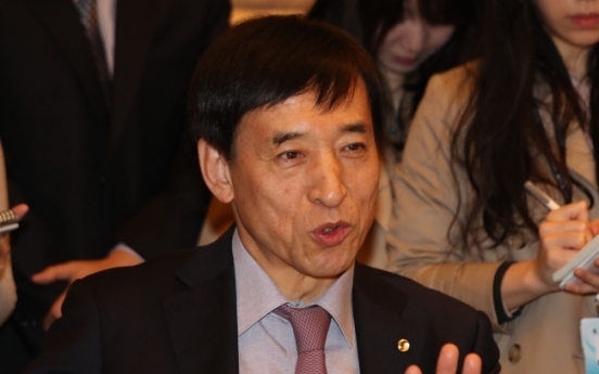 BOK chief says talks under way with China over currency swap deal