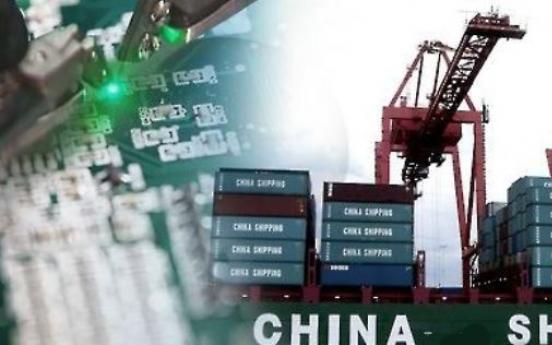 Data shows Korea's presence shrinking in Chinese import market