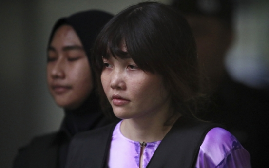 Video of fatal attack on Kim Jung-nam shown at women's trial