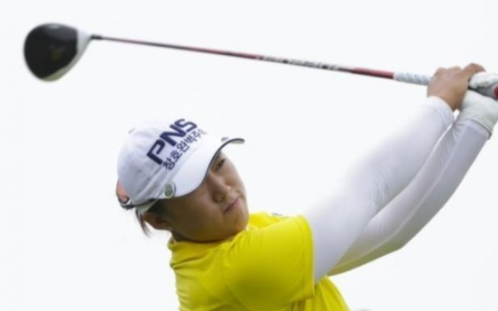 Former champion regaining confidence after solid 1st round at Korean LPGA stop