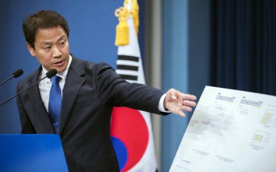 'Park's presidential office doctored Sewol response logs'