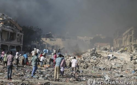 Death toll from blast in Somalia's capital rises to 189