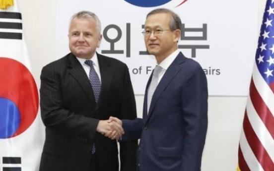 Senior diplomats of S. Korea, US discuss alliance, NK issues