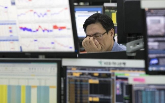 Foreigners sell S. Korean stocks and bonds for second straight month over N. Korea risks