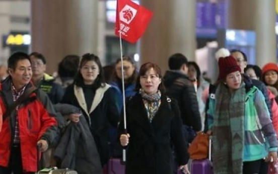 Number of overseas tourists to Korea falls for 7th month in row