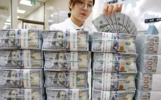 US dollar-Korean won exchange rate least volatile in 3 years in Q3
