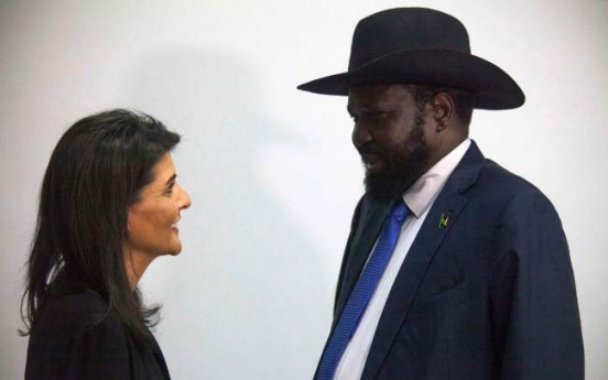 Trump envoy in S. Sudan to push for end to brutal war