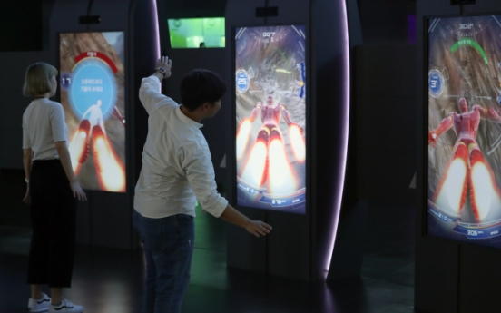 [Photo News] Asia's first Marvel Experience center opens in Busan