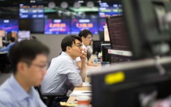 Seoul stocks end lower on profit-taking