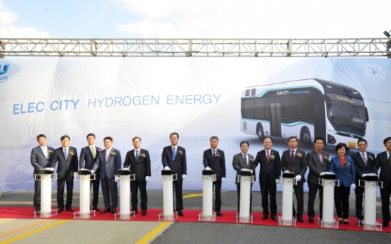 [Photo News] Hyundai's next-Generation buses