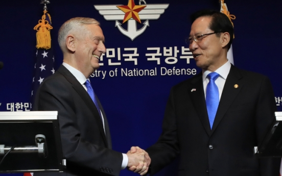 Mattis says threat of nuclear attack by NK accelerating