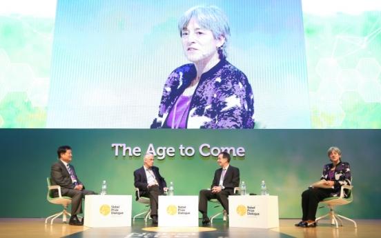 Nobel laureates discuss ageing in Seoul