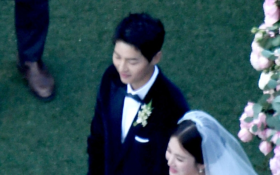 [Video] Big day: Song Joong-ki, Song Hye-kyo wed in private ceremony