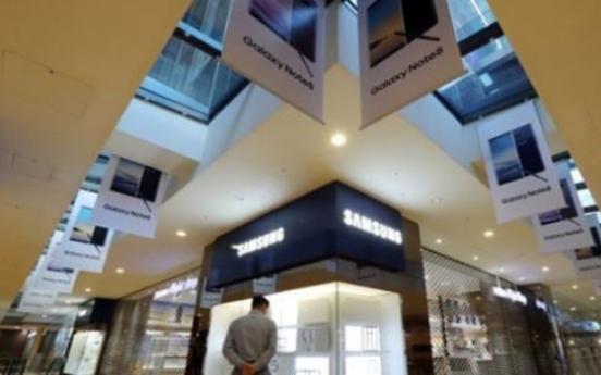 Samsung Group affiliates make up third of market cap on main bourse