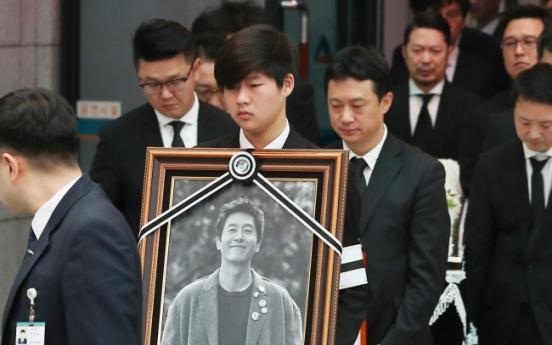 [Newsmaker] Actor Kim Joo-hyuk laid to rest in Seosan