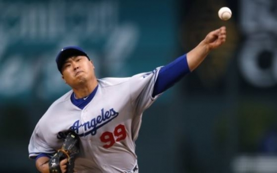 Dodgers' Ryu Hyun-jin ends 2017 without postseason appearance