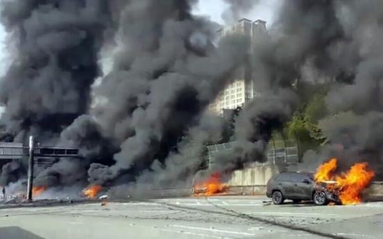 3 die in oil tank blast near Changwon Tunnel