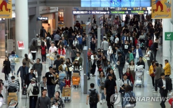 Households' overseas spending up 5.5 pct in Q3